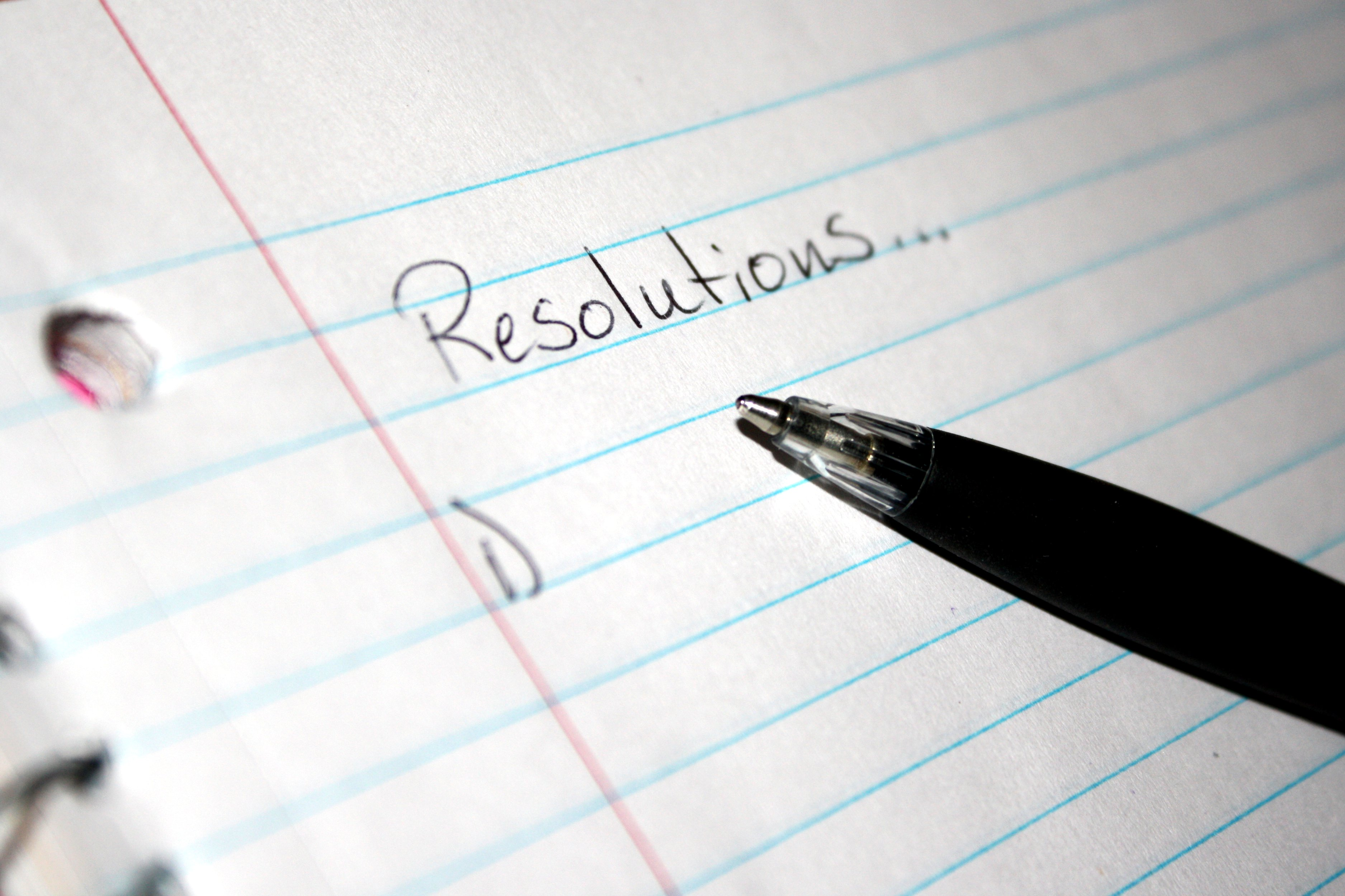 Only One Resolution